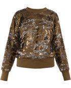 Isabel Marant Hamilton Sequined Sweater - Lyst