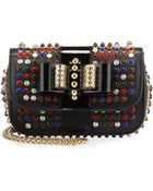 Christian Louboutin Sweety Charity Studded Crossbody Bag - Lyst