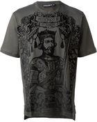 Dolce & Gabbana King Federico Ii Printed T-Shirt - Lyst