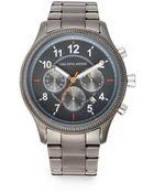 Saks Fifth Avenue Grey Stainless Steel Watch - Lyst
