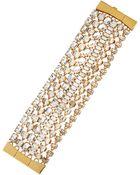 Kate Spade Crystal Multi-Strand Bracelet - Lyst