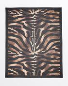 Ferragamo Oblong Zebrata Print Scarf - Lyst