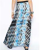 MINKPINK Garden Breeze Print Maxi Skirt - Lyst