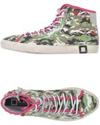 Date High-Tops & Trainers - Lyst