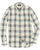 Grayers Abaco Linen-Blend Plaid Sportshirt - Lyst