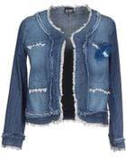 Pf Paola Frani Denim Outerwear - Lyst
