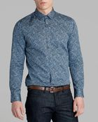 Ted Baker Leojak Print Sport Shirt Regular Fit - Lyst