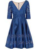 Temperley London Luz V-Neck Dress - Lyst