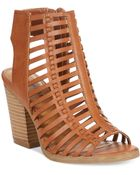 Rampage Voda Chunky Caged Sandals - Lyst