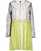 Cheap Monday Knee-Length Dress - Lyst