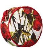 Dolce & Gabbana Rose Print Crossbody Bag - Lyst