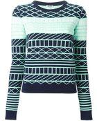 Kenzo 'Oui Non' Sweater - Lyst