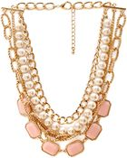 Forever 21 Streetchic Layered Necklace - Lyst