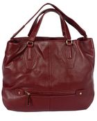 Halston Convertible Hobo Pebble Handbag - Lyst