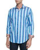 Robert Graham Endless Lagoon Striped Sport Shirt - Lyst