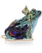 Judith Leiber Frog Prince Swarovski Crystal Clutch - Lyst