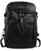 Prada Nylon And Leather Backpack - Lyst