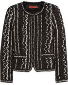 Alice + Olivia Kidman Woven Cotton-Blend Jacket - Lyst