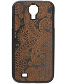Wood'd Cover Samsung Galaxy S4 Damasked - Lyst