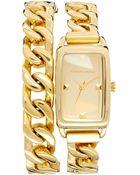 Karl Lagerfeld Chain Watch - Lyst
