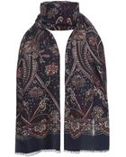 Jules B Paisley Scarf - Lyst