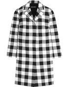 Dolce & Gabbana Gingham Cotton Coat - Lyst