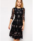 Needle & Thread Embellished Midi Willow Dress - Lyst