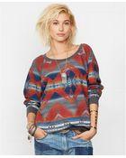 Denim & Supply Ralph Lauren Southwestern Intarsia-Knit Sweater - Lyst