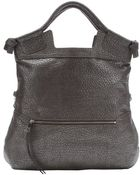 Foley + Corinna Sterling Textured Leather 'Mid City' Convertible Tote Bag - Lyst
