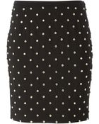 Moschino Embellished Skirt - Lyst