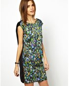 Y.A.S Mirror Print Dress with Zip Detail - Lyst
