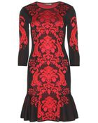 Roberto Cavalli Stretch Dress - Lyst