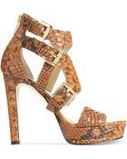 Michael Kors Michael Lucinda Platform Sandals - Lyst
