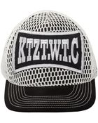 KTZ Net Boxing Baseball Cap White/Black - Lyst