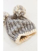 Urban Outfitters Animal Ears Cable-Knit Beanie - Lyst