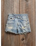 Free People Vintage Cut Off Shorts - Lyst