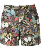 Valentino Butterfly Print Swim Shorts - Lyst