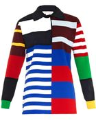 Stella McCartney Multi-Stripe Top - Lyst