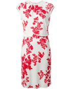 Tory Burch Floral Print Dess - Lyst