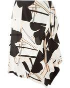 Marni Floral Print Skirt - Lyst