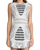 Blaque Label Print Dress - Lyst