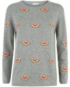 Chinti & Parker Watermelon Cashmere Sweater - Lyst