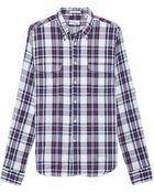 Gant Rugger Oxford Plaid Shirt - Lyst