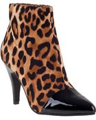 Jeffrey Campbell Jessa Ankle Boot Leopard - Lyst