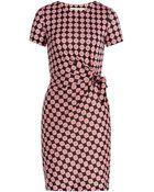 Diane von Furstenberg Zoe Printed Silk Dress - Lyst