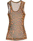 Christopher Kane Sleeveless T-Shirt - Lyst