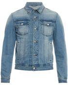 AMI Classic Denim Jacket - Lyst