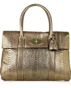 Mulberry Bayswater Python Bag - Lyst