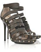 Jimmy Choo Aston Leather Sandals - Lyst
