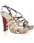 Christian Louboutin Miss Dina 120 Sandals - Lyst